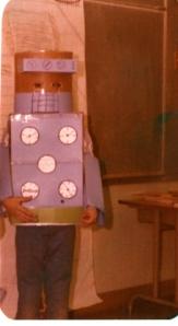 Me as a robot