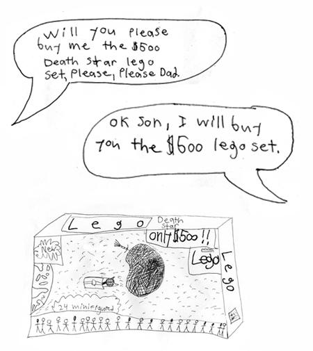 Guest Lego cartoon