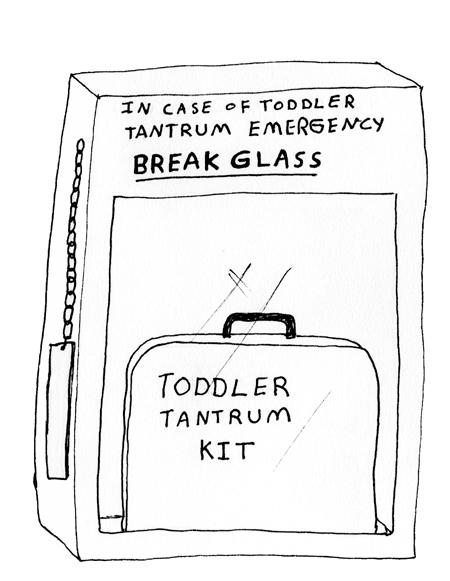 Toddler tantrum kit
