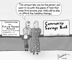 Therapy bank account