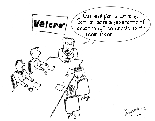 Velcro's evil plan
